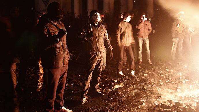 Kiev, January 24, 2014. (Reuters / David Mdzinarishvili)