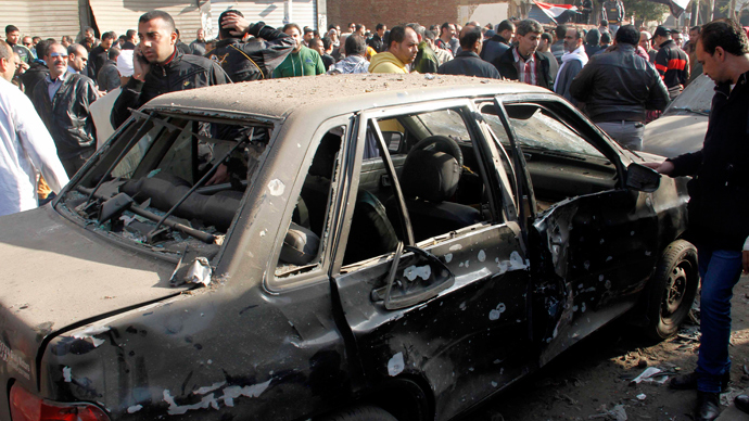 Clashes, tear gas, blasts: Egypt meets third anniversary of revolution