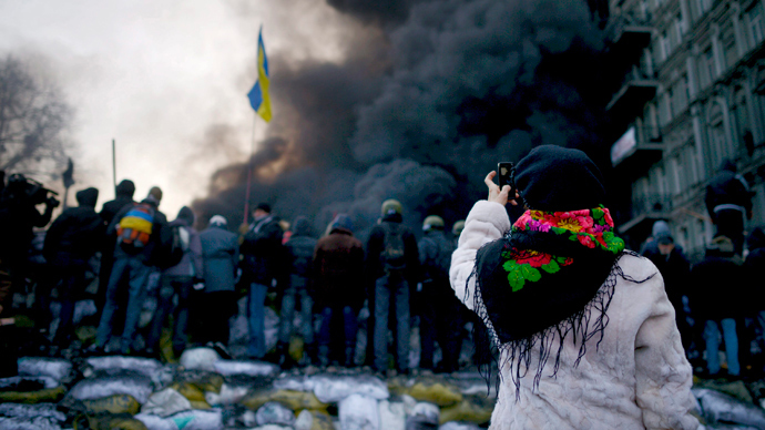 Kiev protesters siege energy ministry building as Donetsk holds pro-govt rallies