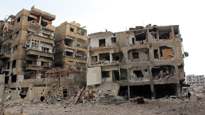 Humanitarian deal reached on war-hit Homs, people return to embattled Aleppo
