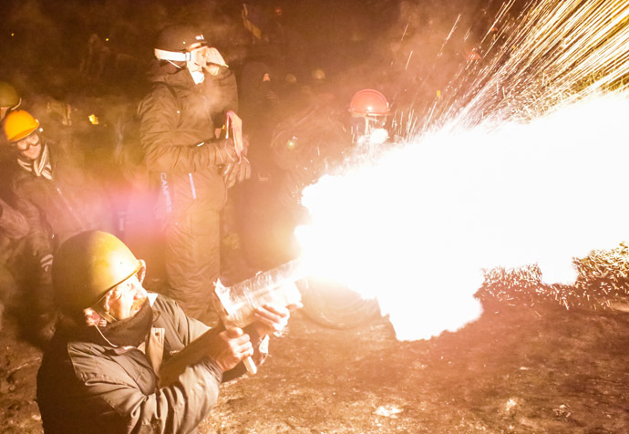 Kiev, 25 de janeiro de 2014.  (RIA Novosti / Andrey Stenin)