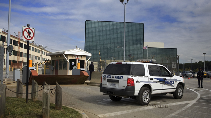 National Security Agency (NSA) at Fort Meade, Maryland (AFP Photo / Jim Watson)