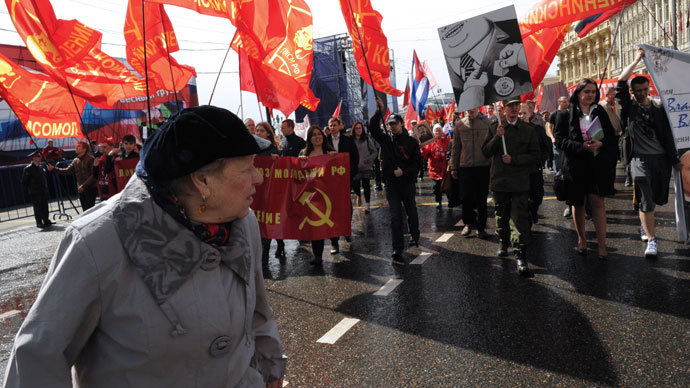 Communists rule out violent 'Ukrainian' scenario in Russia