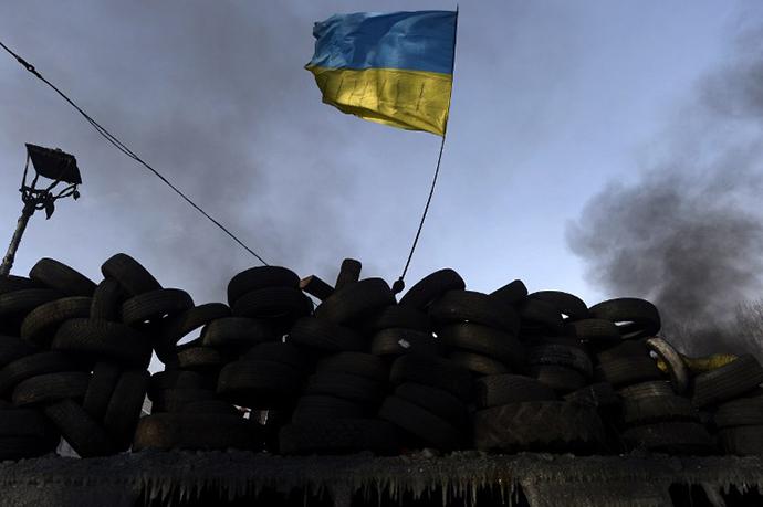 January 27, 2014. (AFP Photo / Aris Messinis)