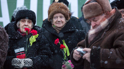 Pensioner seeks 50mn rubles over 'moral challenge' of Leningrad Siege poll