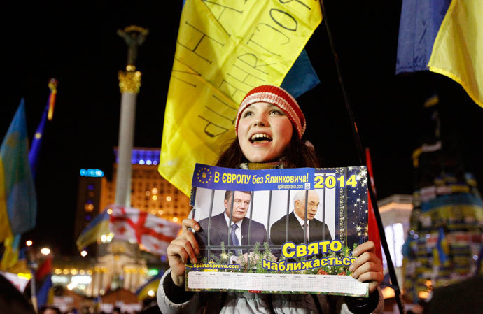 Kiev December 4, 2013.(Reuters / Vasily Fedosenko)
