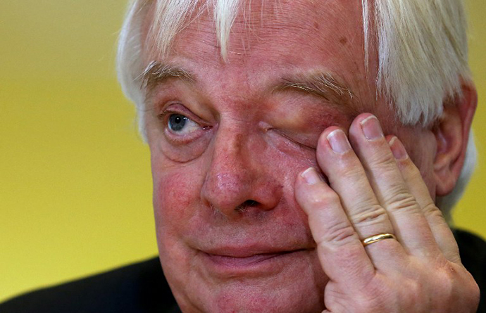 BBC Trust Chairman Chris Patten (AFP Photo / Chris Radburn)