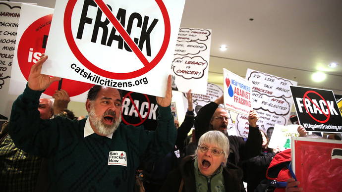 Court prohibits vocal fracking critic from entering 40% of Pennsylvania county