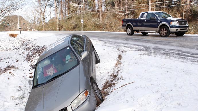 Atlanta's 'zombie apocalypse'? Rare snowfall paralyzes region, strands many