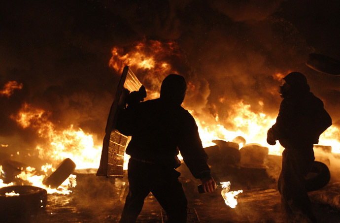 Kiev, January 24, 2014 (Reuters/Vasily Fedosenko)