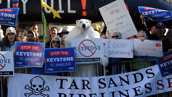 Keystone pipeline won't hurt environment much, US govt report says