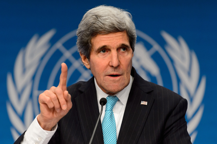 US Secretary of State John Kerry (AFP Photo / Fabrice Coffrini)