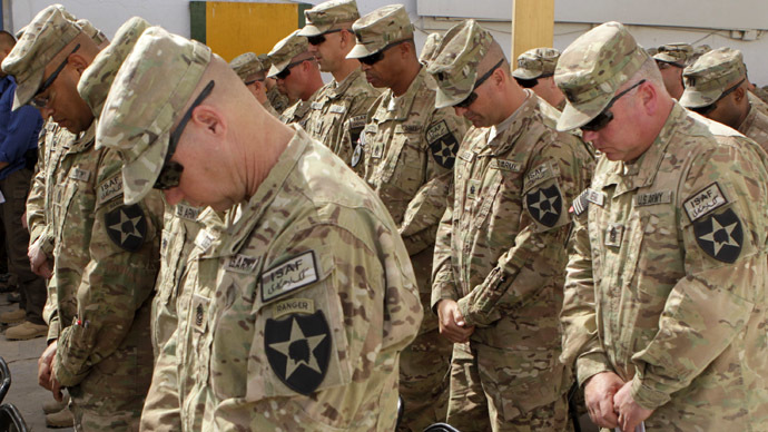Suicide rate among US active-duty troops falls, reservists buck positive trend