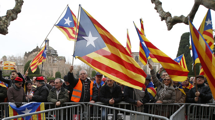 Catalan president: Spain cannot block our independence vote