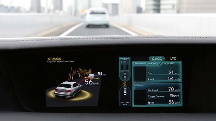 Cars that speak to one another? Tech on the way, but privacy concerns remain