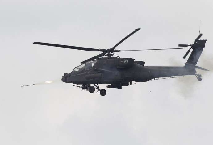 The U.S. Army's AH-64 Apache helicopter (Reuters/Kim Hong-Ji)