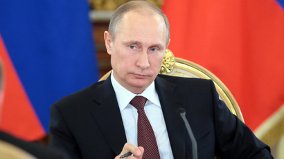 Society needs protection against extremism in times of colored revolutions - Putin