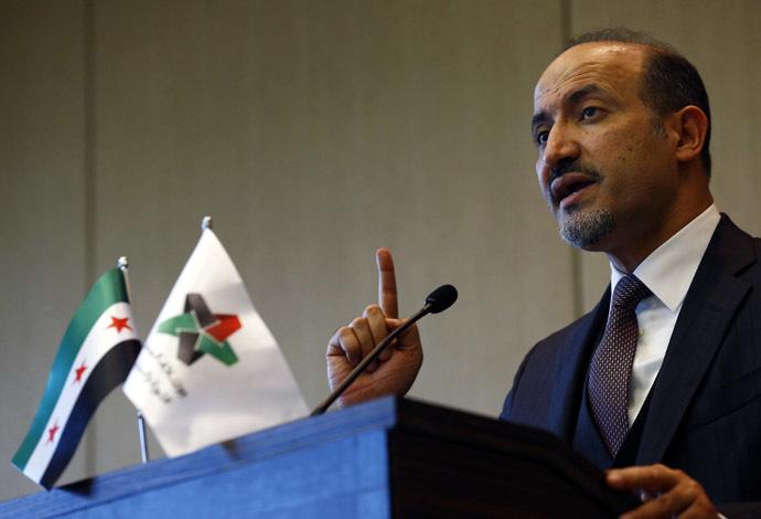 Syrian opposition leader Ahmad Jarba (Reuters/Denis Balibouse)
