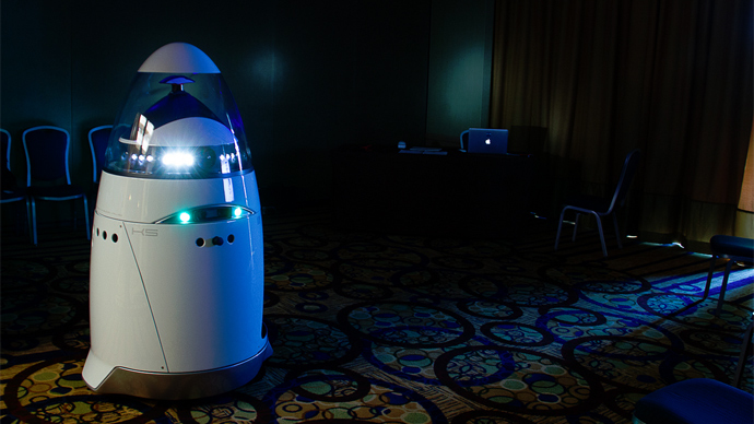 California company builds 5-foot android robocops to control crime-ridden areas