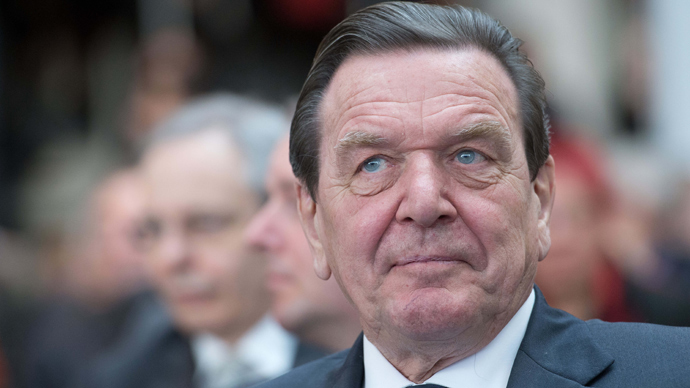EU policy to blame for Ukraine crisis - Ex-Chancellor Schroeder