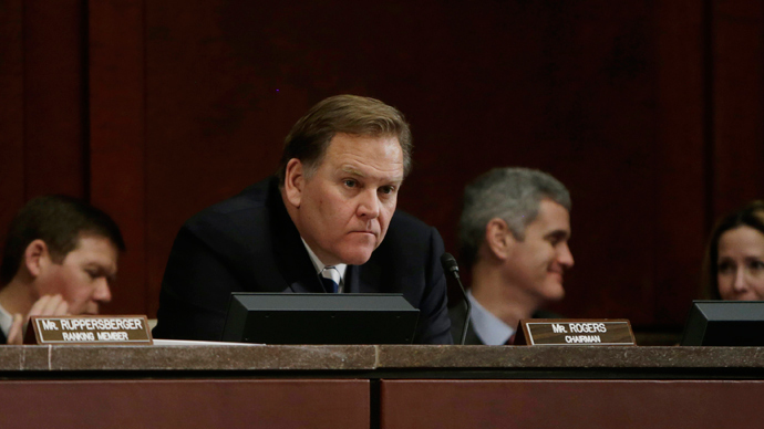 Chairman U.S. Rep. Mike Rogers (R-MI) (Reuters / Gary Cameron)