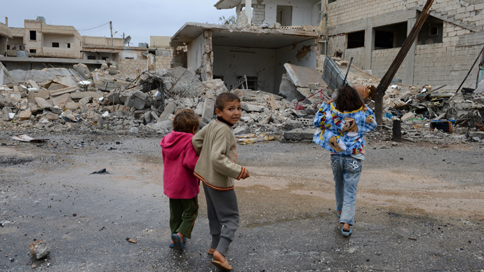 Child abuse on rise in war-torn Syria - UN