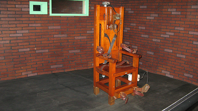 Virginia to vote on electric chair as default execution method