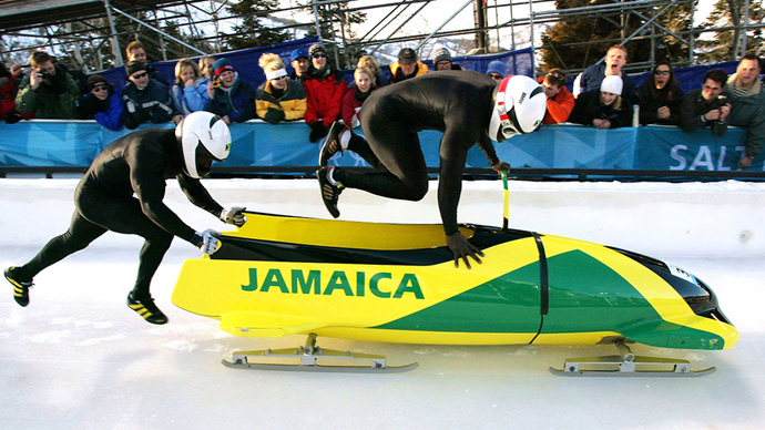 Jamaica's bobsleigh team finally in Sochi – but without equipment