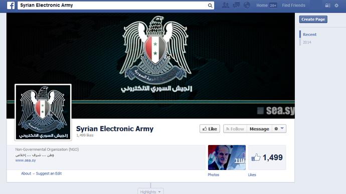 'Happy Birthday Mark!' Syrian Electronic Army hacks into Facebook's domain