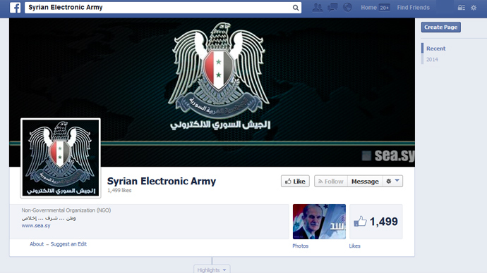 'Happy Birthday Mark!' Syrian Electronic Army hacks into Facebook's domain