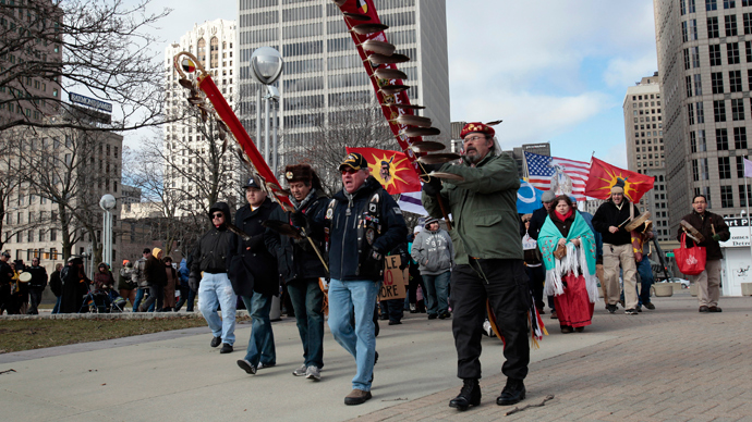 #NoKXL: Thousands march in D.C. against Keystone pipeline