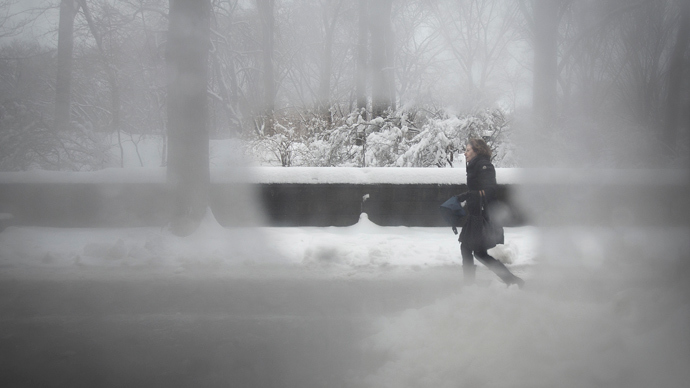Southern US struggles through 'catastrophic' winter storm