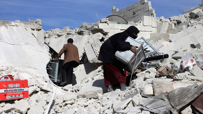 UN urges Syrian govt, rebels to halt war crimes against civilians