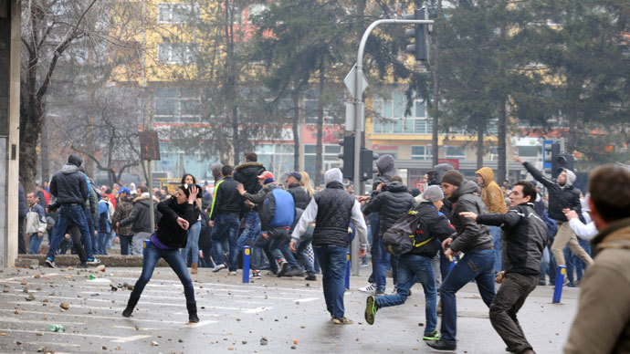 Over 130 injured as Bosnian anti-government protests turn violent