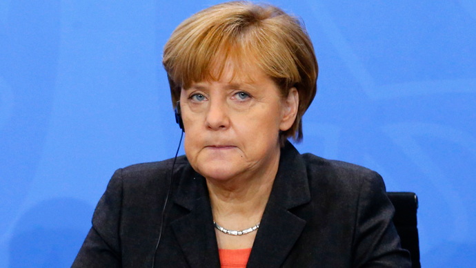 Merkel blasts US diplomat's F**k the EU comment