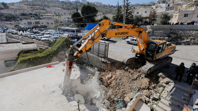 ​Israel's destruction of Palestinian homes at five-year high – aid orgs