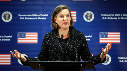Nuland has tough time justifying US involvement in Ukraine