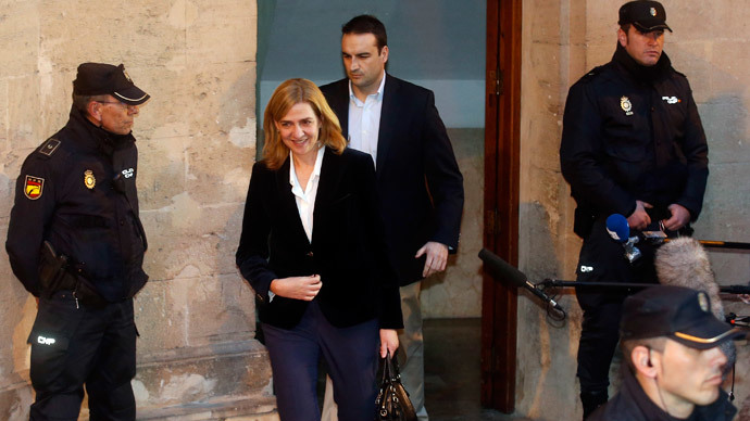 Princess Cristina of Spain grilled over major corruption allegations