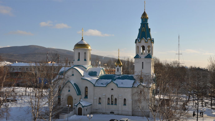 ​Gunman in Russian cathedral kills two, wounds six