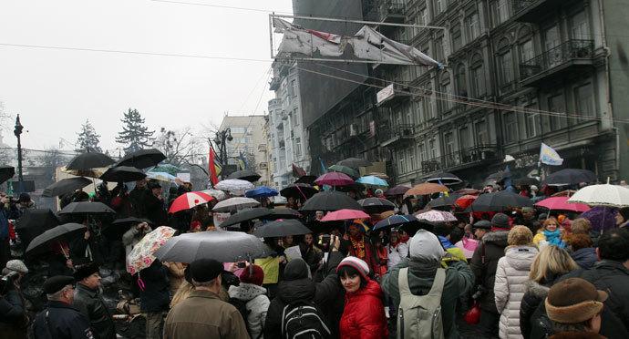 Kiev on February 9, 2014.(AFP Photo / Anatolii Boiko)