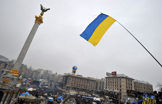 Kiev on February 9, 2014.(AFP Photo / Agenya Savilov)