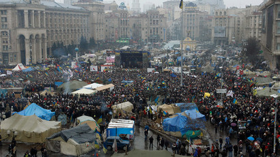 15 terrifying images which show that Kiev is a real warzone