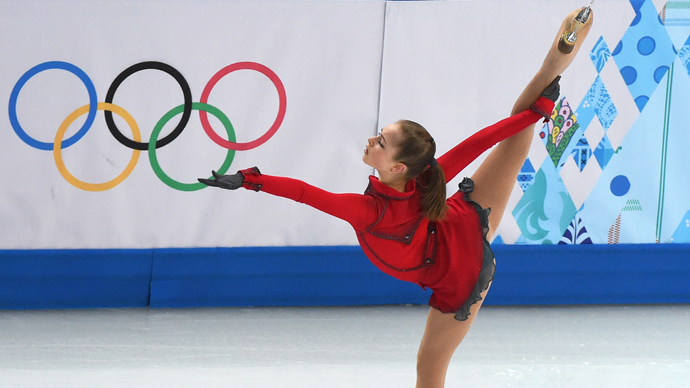 15yo prodigy Yulia Lipnitskaya is Russia's youngest Winter Olympic champion
