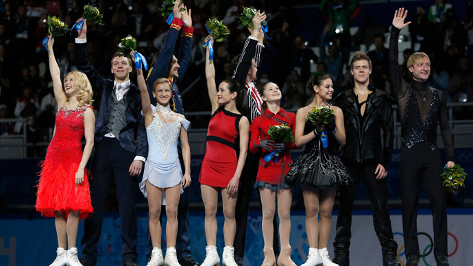 Sochi medal wrap-up, Day 2: 15yo figure skating prodigy secures Russia's first gold
