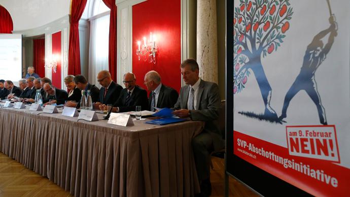 Eurocrat fury as Swiss 're-build walls' against EU immigration