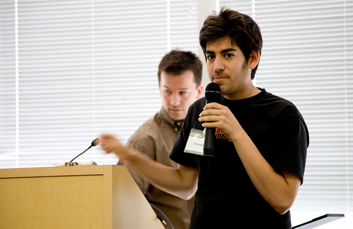 Aaron Swartz (Photo by Joi Ito / flickr.com)