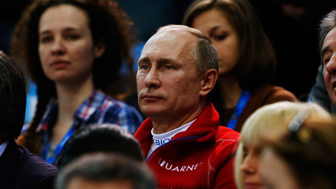 Putin: Sochi Olympics opened door to Russia, showed nothing to fear