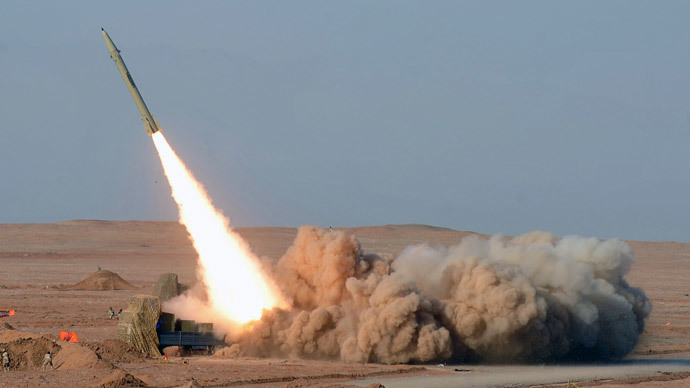 Iran test-fires ballistic missiles ahead of nuclear talks