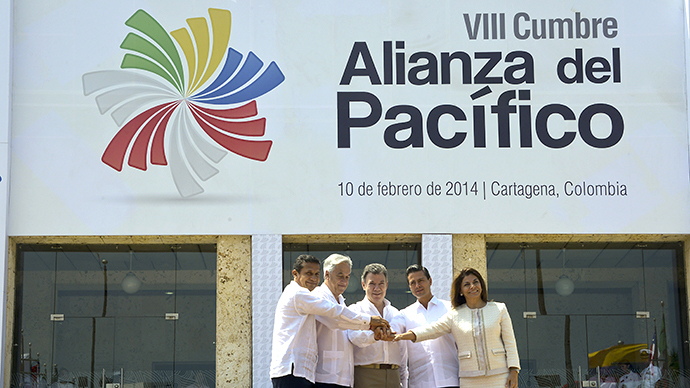 Four Latin American countries agree $85 bn free-trade deal