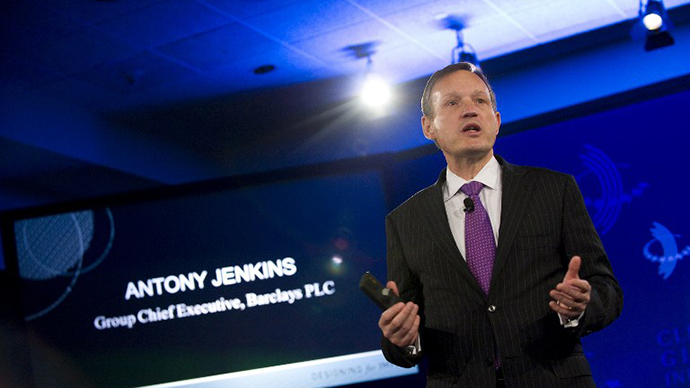 Barclays PLC Group Chief Executive Antony Jenkins (AFP Photo / Stephen Chernin)
